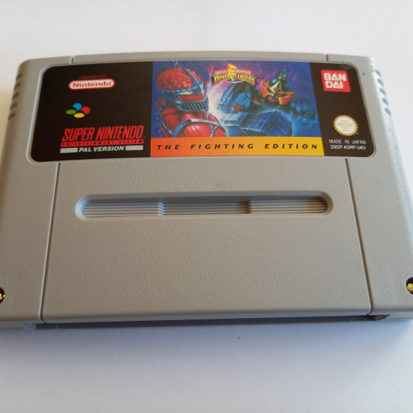 Mighty Morphin Power Rangers - The Fighting Edition - SNES
