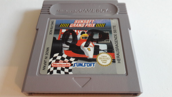 Sunsoft Grand Prix - Game Boy