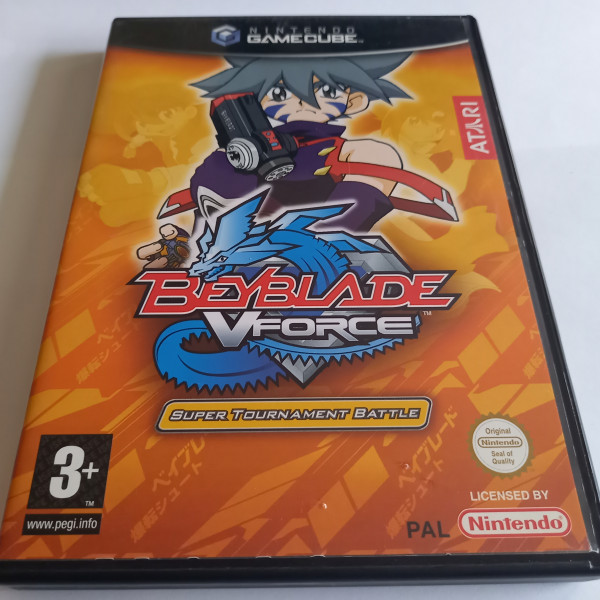 BeyBlade VForce - Super Tournament Battle - GameCube