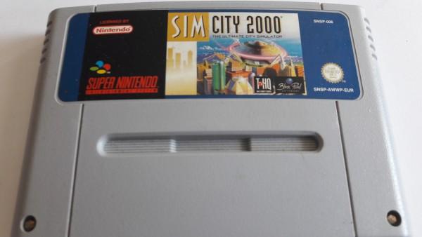 Sim City 2000 - SNES