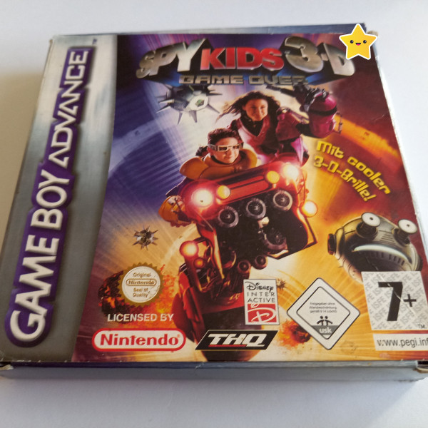 Spy Kids 3-D - Game Over - GBA