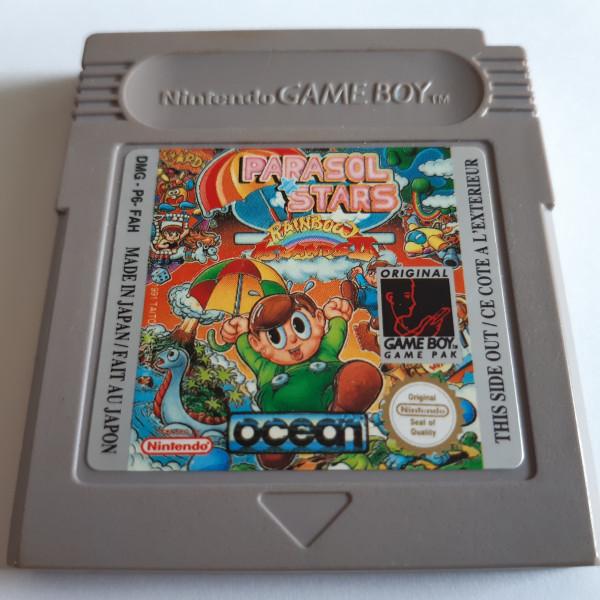 Parasol Stars - Rainbow Islands II - Game Boy