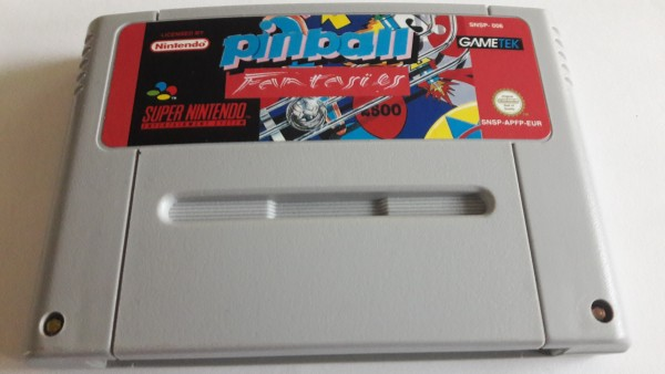 Pinball Fantasies - SNES