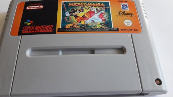 Mickey Mania - SNES