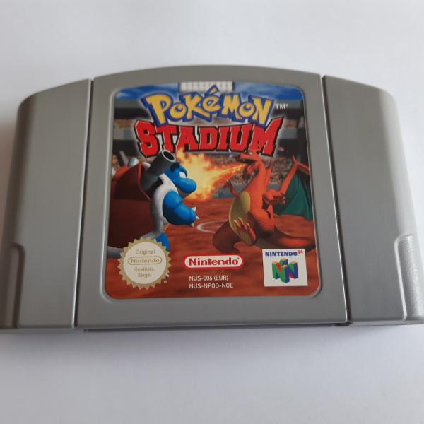 Pokémon Stadium - N64