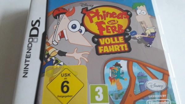 Phineas und Ferb - Volle Fahrt - DS