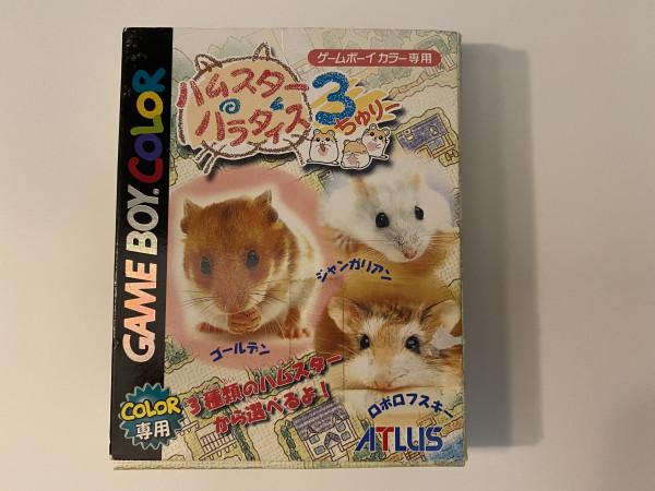 Hamster Paradise 3 - GBC - OVP