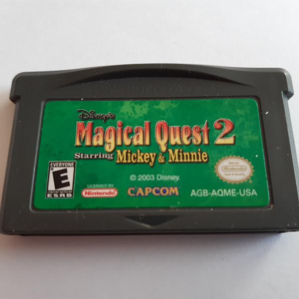 Magical Quest 2 - Starring Mickey & Minnie - GBA