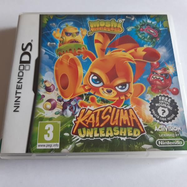 Moshi Monsters - Katsuma Unleashed - DS