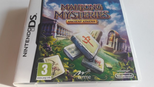 Mahjong Mysteries - Ancient Athena - DS