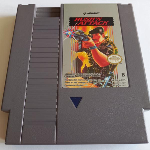 Rush`n Attack - NES