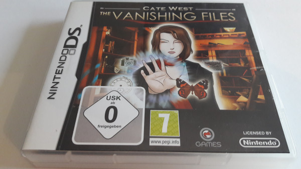 Cate West - The Vanishing Files - DS