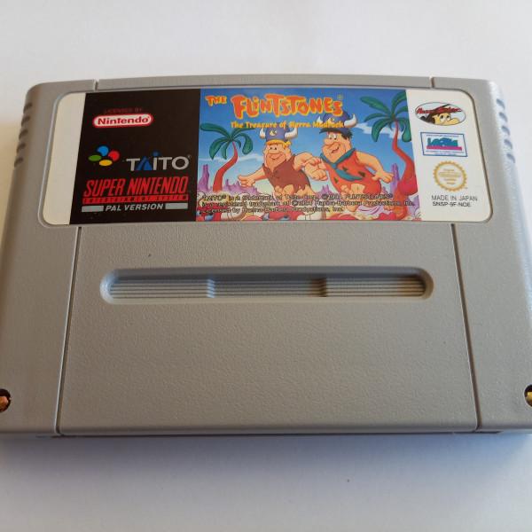 The Flintstones - The Treasure of Sierra Madrock - SNES