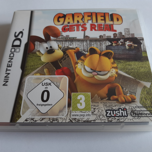 Garfield - Gets Real - DS