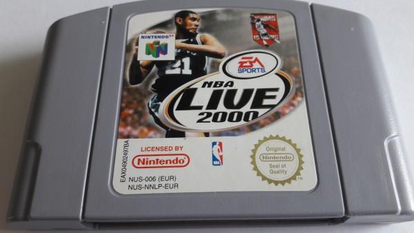 NBA Live 2000 - N64