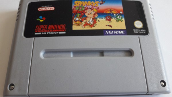 Spanky`s Quest - SNES