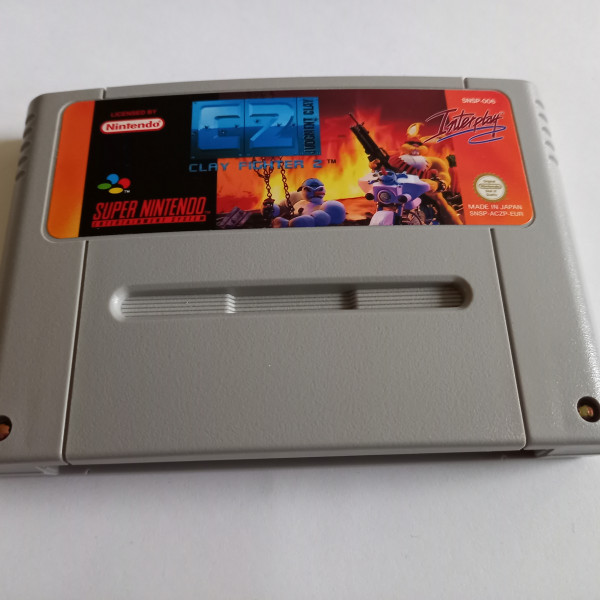 C2 - Clay Fighter 2 - Judgment Clay - SNES