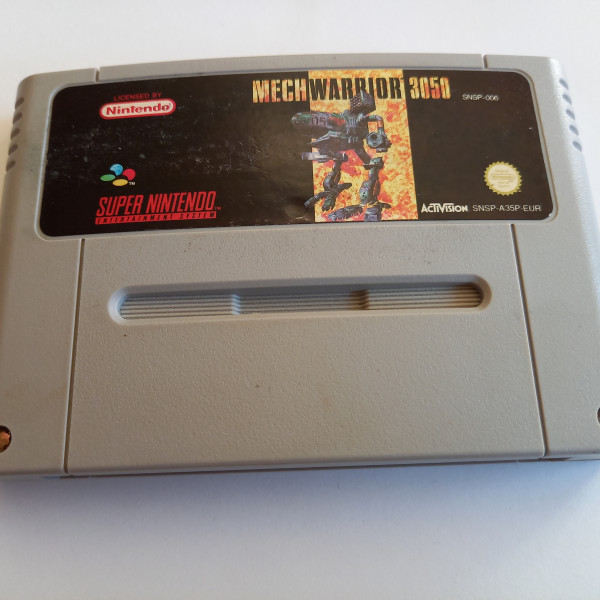 MechWarrior 3050 - SNES