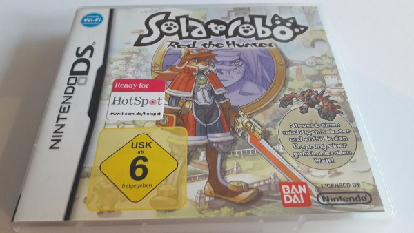 Solatorobo - Red the Hunter - DS