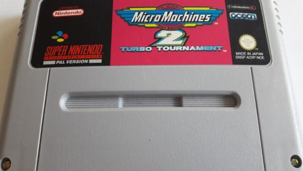 Micro Machines 2 - Turbo Tournament - SNES