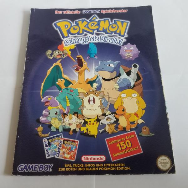 Pokemon rote und blaue Edition - Spieleberater - Game Boy