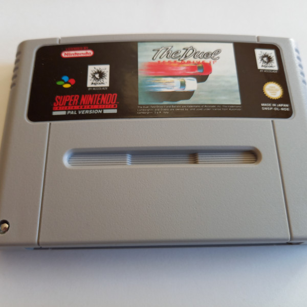 Test Drive II - The Duel - SNES