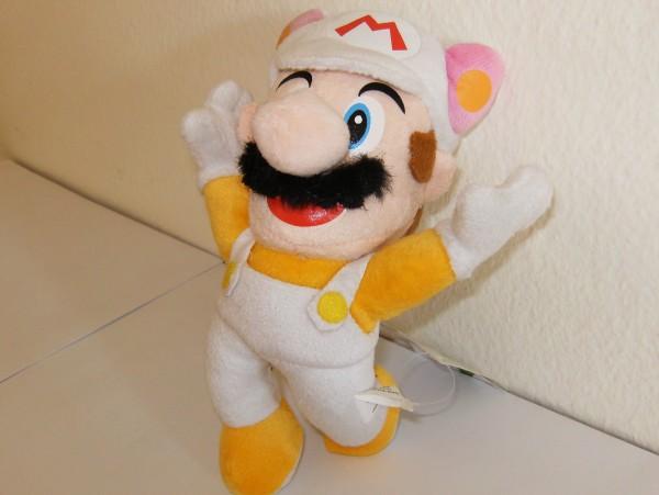 Tanooki-Mario - Plüschfigur - weiss
