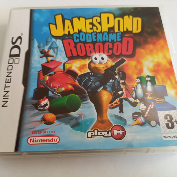 James Pond - Codename Robocod - DS
