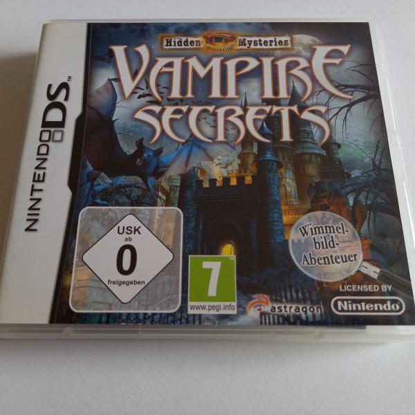 Hidden Mysteries - Vampire Secrets - DS