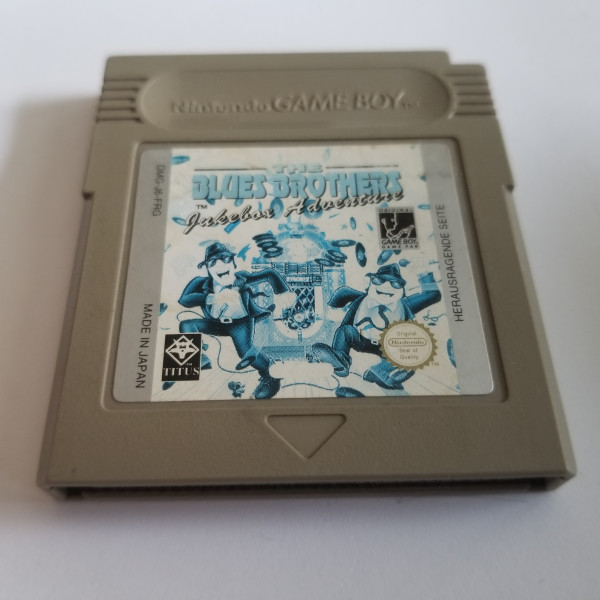 The Blues Brothers - Jukebox Adventures - Game Boy