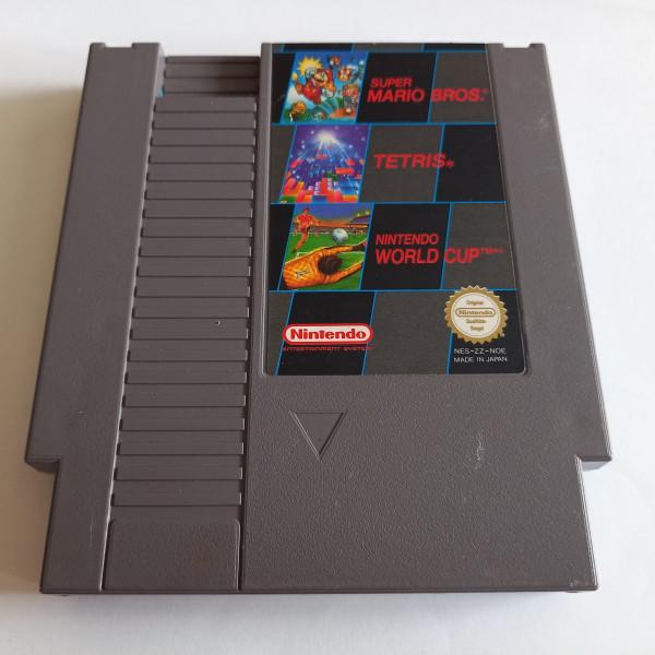 Super Mario Bros. & Tetris & World Cup - NES