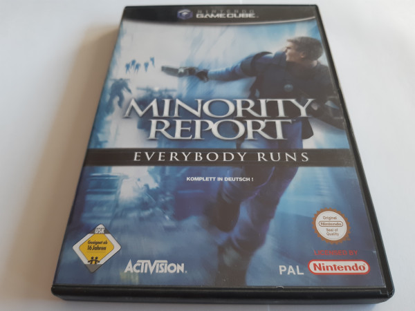Minority Report - Everybody Runs - GameCube