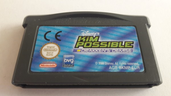 Kim Possible - Drakkens Demise - GBA
