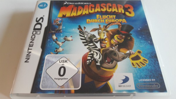 Madagascar 3 - DS