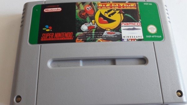 Pac in Time - SNES