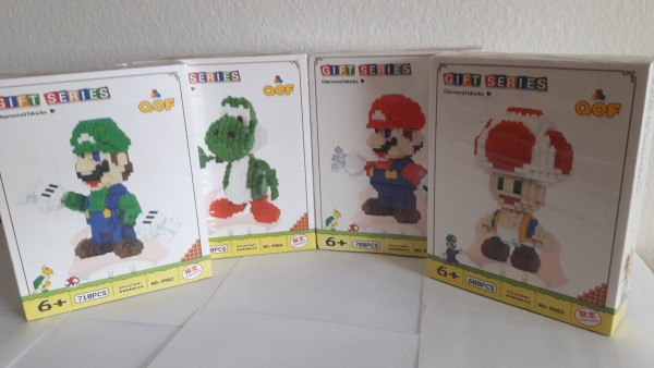 Super Mario - Gross - Gift Series - Klemmbausteine