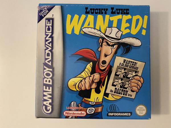 Lucky Luke - Wanted - GBA - OVP