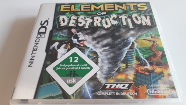 Elements of Destruction - DS