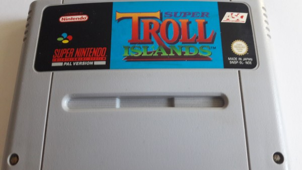 Super Troll Islands - SNES