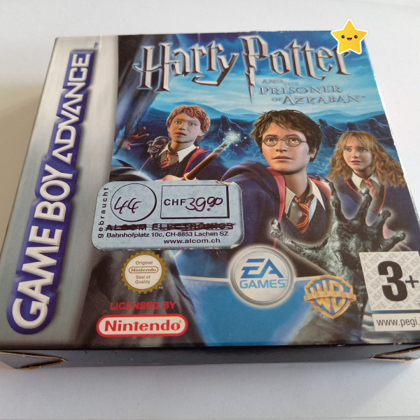 Harry Potter und der Gefangene von Askaban - GBA