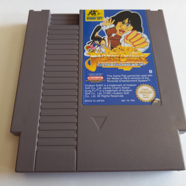 Jackie Chan's Action Kung Fu - NES