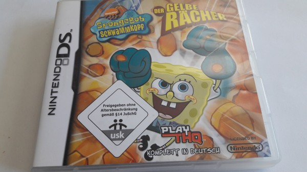 Der Gelbe Rächer - Spongebob Schwammkopf - DS