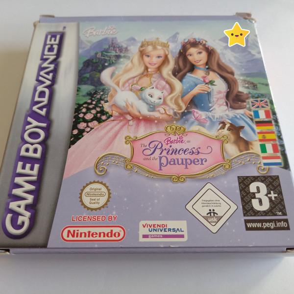Barbie als die Prinzessin und das Dorfmädchen - GBA - OVP