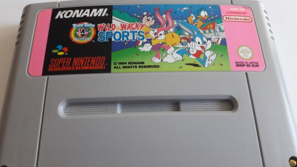 Wild Wacky Sports - SNES