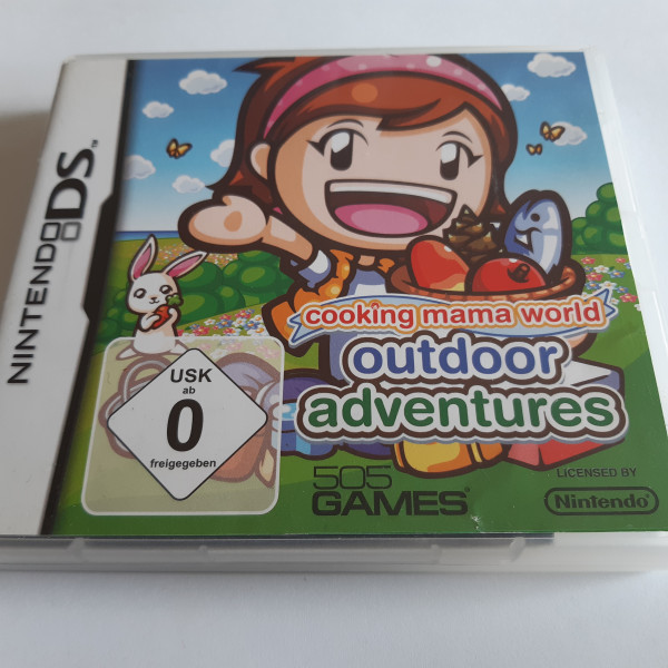 Cooking Mama World - Outdoor Adventure - DS