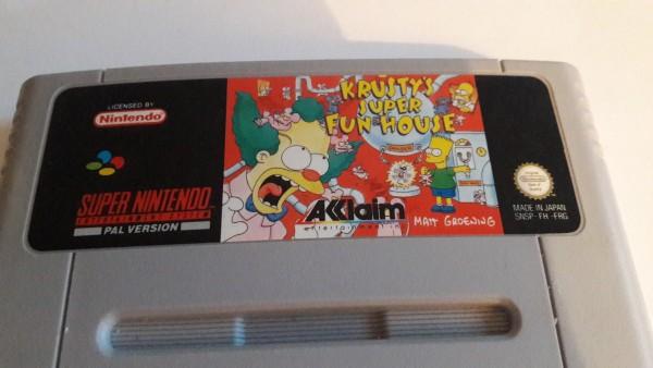 Krustys Super Fun House - SNES