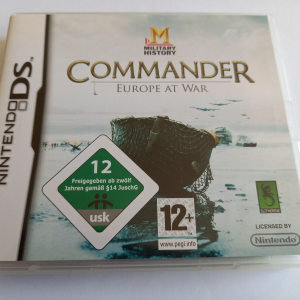 Military History - Commander - Europe at War - DS