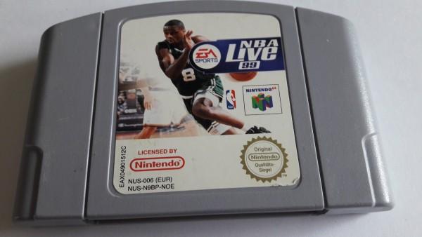NBA Live 99 - N64