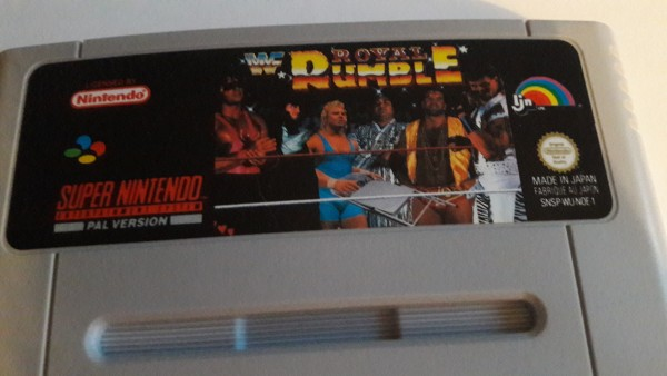 WWF Royal Rumble - SNES