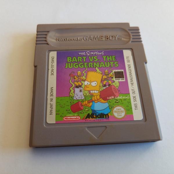 Bart vs. The Juggernauts - Game Boy